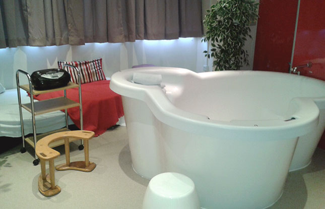 Wycombe birthing pool